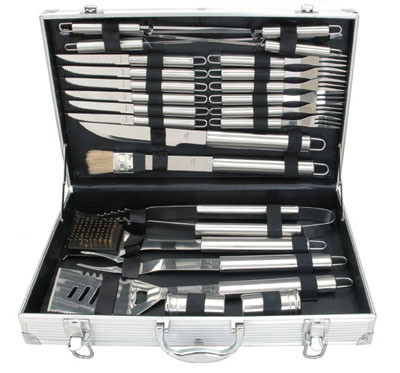 BlueTongue 24 Piece BBQ Tool Set