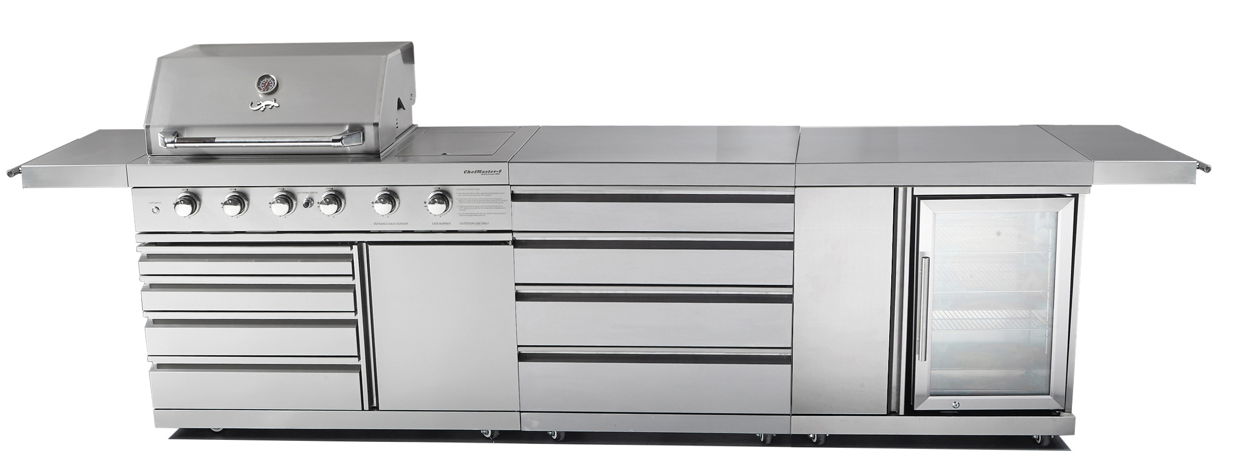 CHEFMASTER GALLEY SERIES CG-SR6