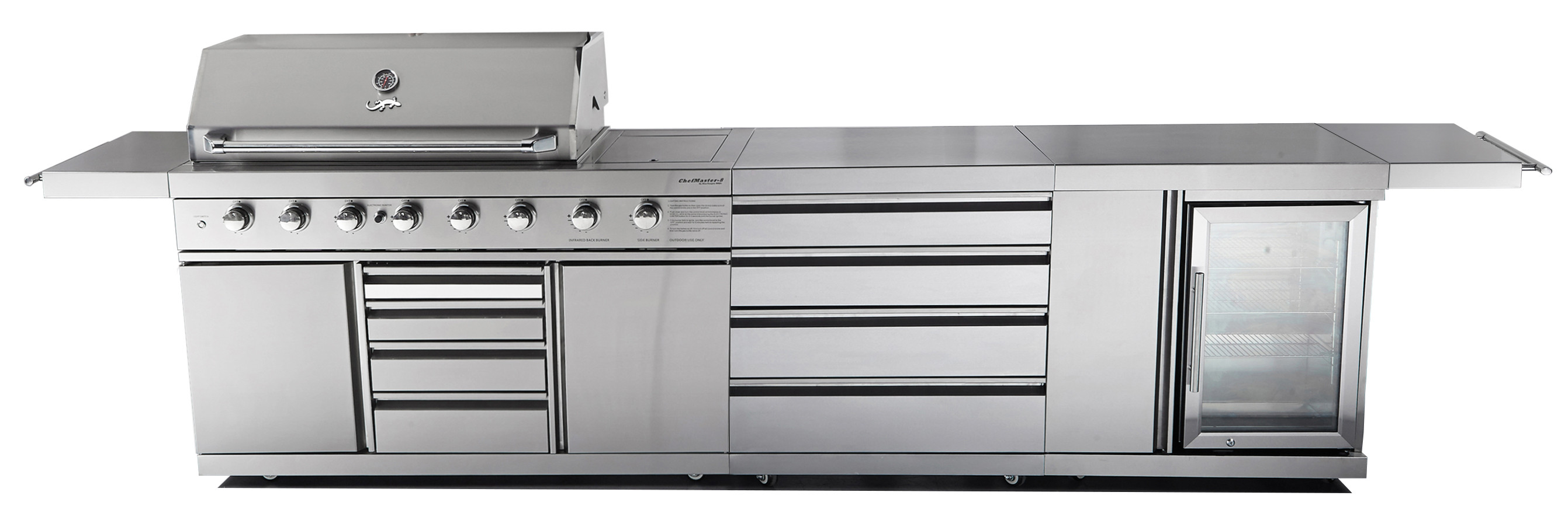 CHEFMASTER GALLEY SERIES CG-SR8