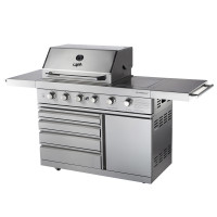 ChefMaster-6 Four+Two Burner Barbecue - $2995.00